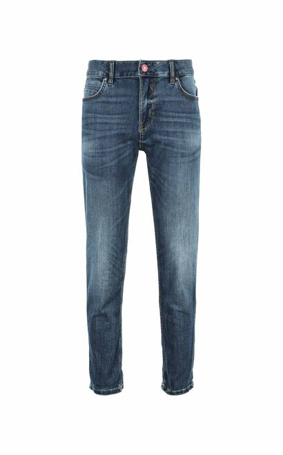 JC RAY CROPPED WINDY JEANS, Blue, large
