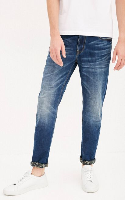 JC TIM COOLMAX LIGHT JEANS, Blue, large