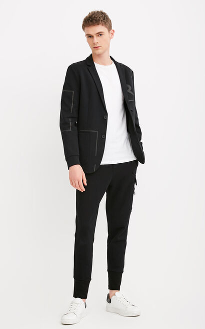 EXP-C LOUIS BLAZER(SLIM FIT), Black, large