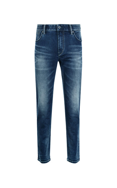 Jack Jones Men's Summer Stretch Faded Skinny-leg Jeans JO|217332568, Blue, large