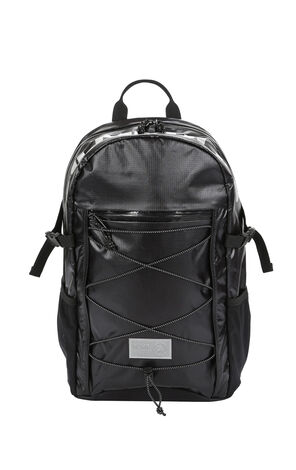MLMR Men's Black Multiple Pockets Backpack M|218485502
