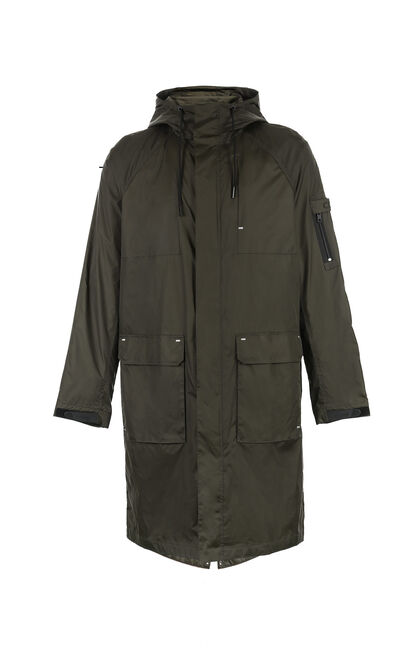 C STADIUM PARKA JACKET, Army Green, large