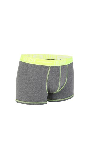 JackJones Men's Summer Cotton-rich Pure Color Boxer Briefs E|218292509