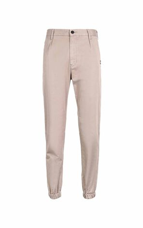 MLMR Men's Autumn Stretch Cotton Pure Color Closure Cuffs Leisure Pants M|218314586