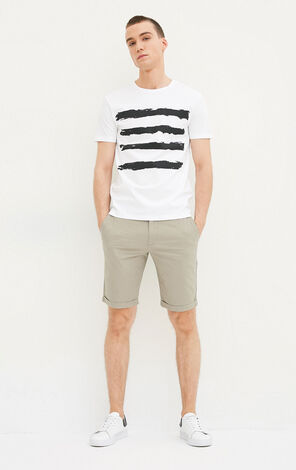 JACK JONES MEN'S EMBRACE SHORTS (REGULAR FIT) | 217215512