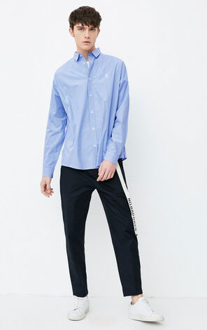 E CLOTEN SHIRT L/S(OVERSIZED FIT)