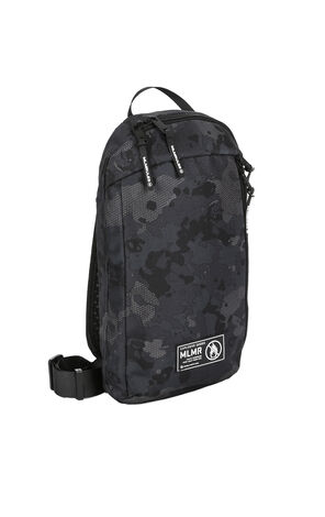 MLMR Men's Durable Multiple Pockets Printed Zipped Single-shoulder Bag M|218485503