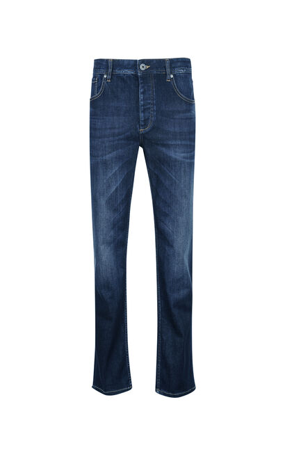 JackJones Men's Loose Stratch Casual Jeans JC | 217332567 , Blue, large