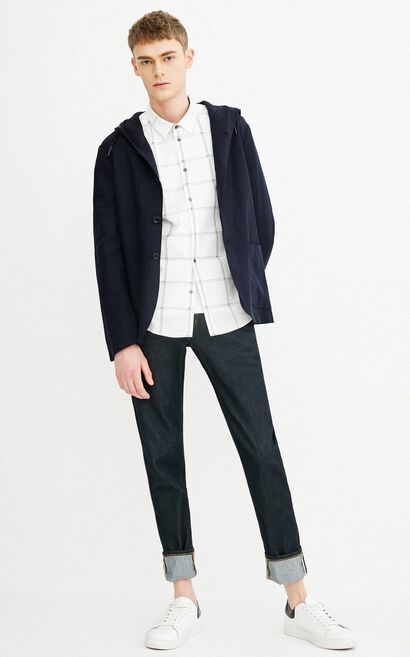 E LOOP-RO BLAZER(REGULAR FIT), Dark blue, large