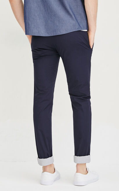 E DORTMUND PANTS-RO(SLIM  STRETCH FIT), Blue, large