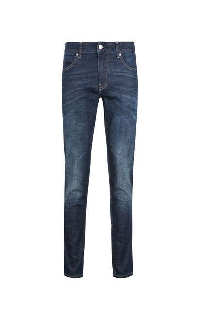 JackJones Men's Autumn Highly Stretch Skinny Tight-leg Jeans JC|217332585, Blue, large